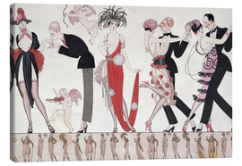 Canvas print  The Tango - Georges Barbier