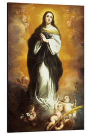 Alu-Dibond  The Immaculate Conception - Bartolome Esteban Murillo
