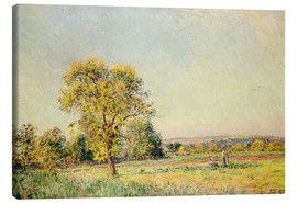 Canvas print  A Summer's Day, 1886 - Alfred Sisley