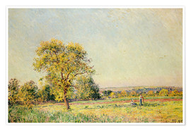 Alfred Sisley - A Summer's Day, 1886
