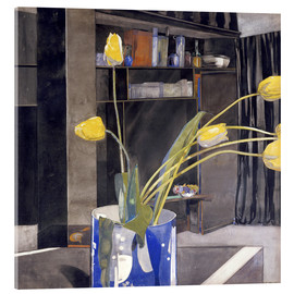 Acrylic print  Yellow Tulips - Charles Rennie Mackintosh