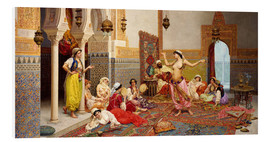 Foam board print  The Harem Dance - Giulio Rosati
