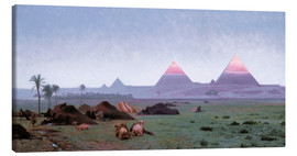 Canvas  The First Kiss of the Sun - Jean Leon Gerome