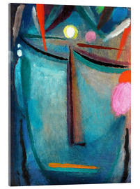 Acrylic print  Face of Christ, Crown of Thorns - Alexej von Jawlensky