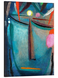 Aluminium print  Face of Christ, Crown of Thorns - Alexej von Jawlensky