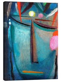 Canvas print  Face of Christ, Crown of Thorns - Alexej von Jawlensky