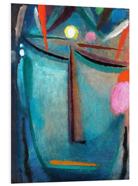 Foam board print  Face of Christ, Crown of Thorns - Alexej von Jawlensky