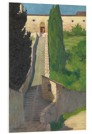 Forex  The Steps of the Convent of San Marco, Perugia, 1913 - Felix Edouard Vallotton