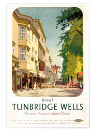 Premium poster Royal Tunbridge Wells