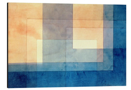 Aluminium print  House on the Water - Paul Klee