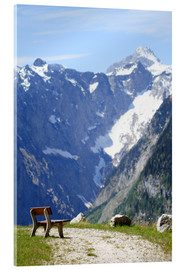 Acrylic print  Peace in the Alps - Jens Berger