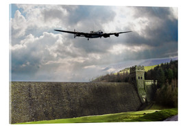 Acrylic glass  Dambusters at Derwent - airpowerart