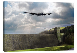 Canvas  Dambusters at Derwent - airpowerart