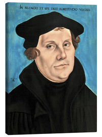 Canvas print  Martin Luther - Lucas Cranach d.Ä.