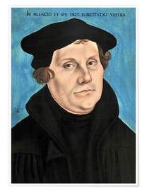 Premium poster Martin Luther