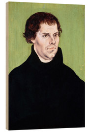 Wood  Martin Luther - Lucas Cranach d.Ä.