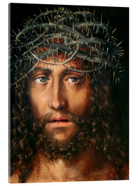 Acrylic print  Christ with Crown of Thorns - Lucas Cranach d.Ä.