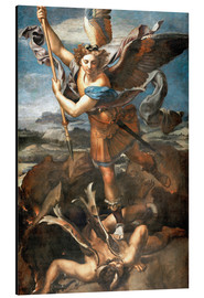 Aluminium print  St.Michael kills the demon - Raffael
