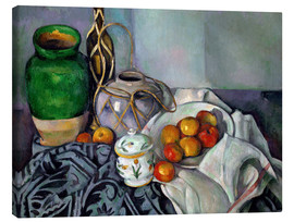 Canvas print  Ginger Jar - Paul Cézanne