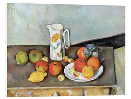 Foam board print  Milk Jug - Paul Cézanne