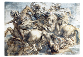 Peter Paul Rubens - Battle of Anghiari, sketch