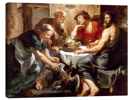 Canvas print  Jupiter and Mercury with Philemon and Baucis - Peter Paul Rubens