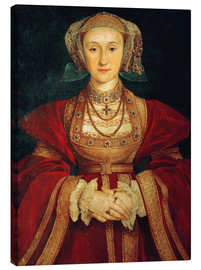 Canvas  Anne of Cleves - Hans Holbein d.J.