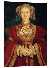 Foam board print  Anne of Cleves - Hans Holbein d.J.