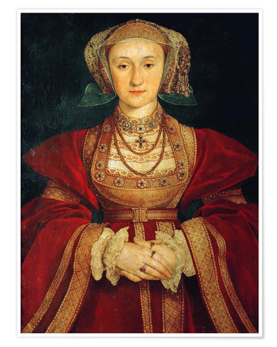 Premium poster Anne of Cleves
