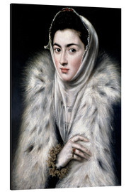 Dominikos Theotokopoulos (El Greco) - The Lady with the fur