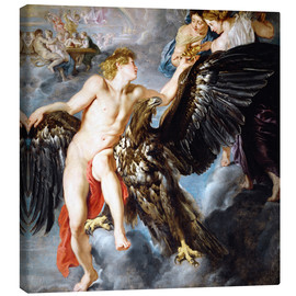 Canvas  Abduction of Ganymede - Peter Paul Rubens