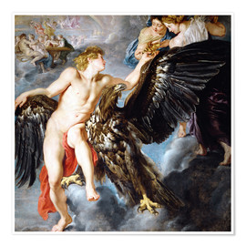 Premium poster Abduction of Ganymede