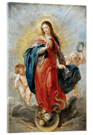 Acrylic print  Immaculate Conception - Peter Paul Rubens