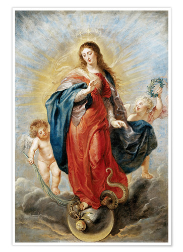 Premium poster Immaculate Conception