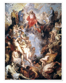 Premium poster The (large) Last Judgement