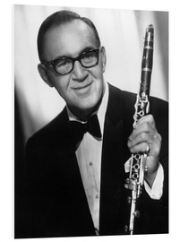 Foam board print  Benny Goodman