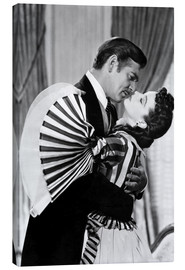 Canvas print  Gone With The Wind, 1939