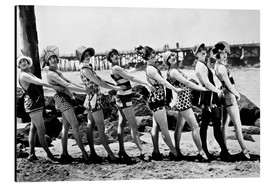 Aluminium print  Bathing Beauties, 1916