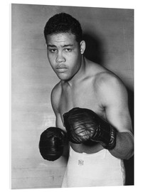 Foam board print  Joe Louis