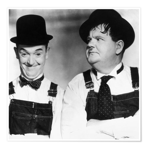Poster Laurel & Hardy