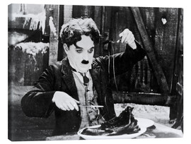 Canvas print  Chaplin: The Gold Rush
