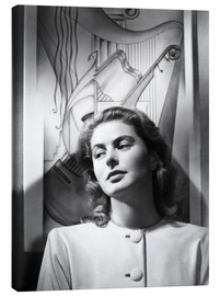 Canvas print  Ingrid Bergman