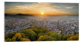 Jan Christopher Becke - Freiburg at sunset