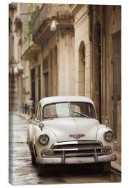 Canvas print  Vintage car in Havana - Walter Bibikow