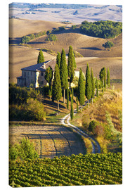 Canvas print  Belvedere House in San Quirico - Terry Eggers