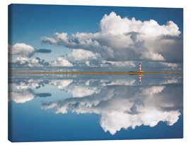 Canvas  Westerheversand Reflection - Carsten Meyerdierks