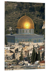 Foam board print  Jerusalem and the Dome of the Rock - David Noyes