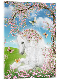 Acrylic print  Dreamy unicorn - Dolphins DreamDesign
