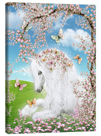 Canvas  Dreamy Unicorn - Dolphins DreamDesign
