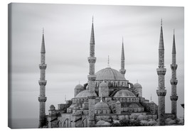Canvas  the blue mosque in Istanbul / Turkey - gn fotografie